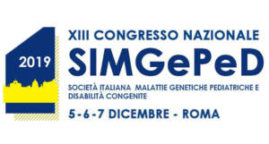 XIII Congresso Nazionale SIMGePeD